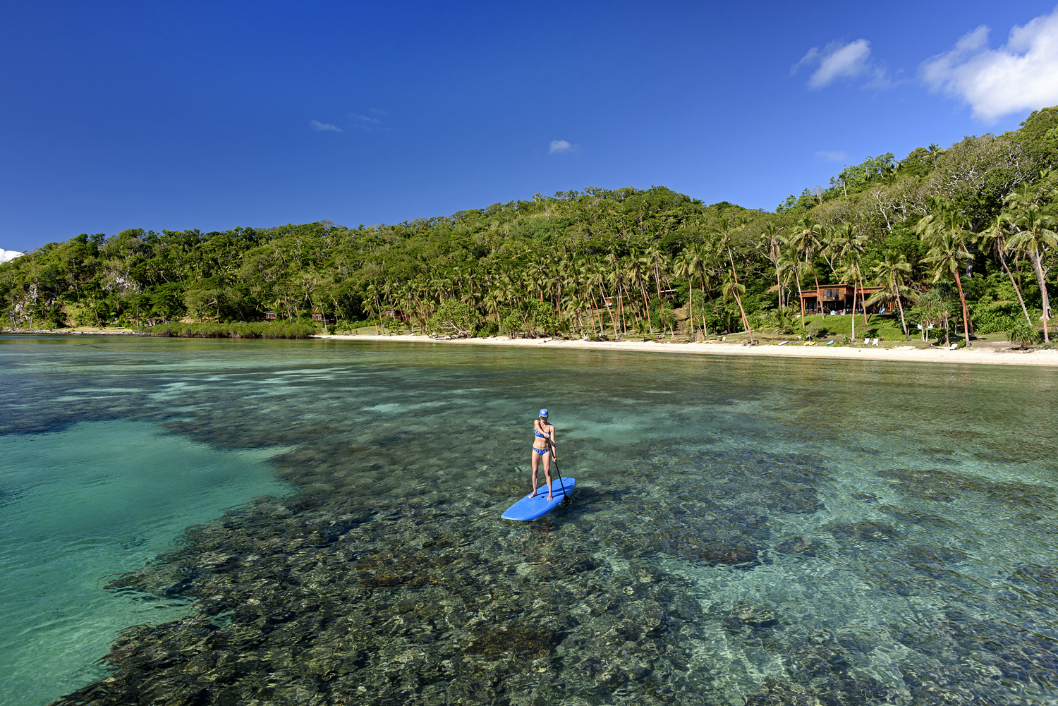 House Reef SUP - The Remote Resort - Fiji Resort