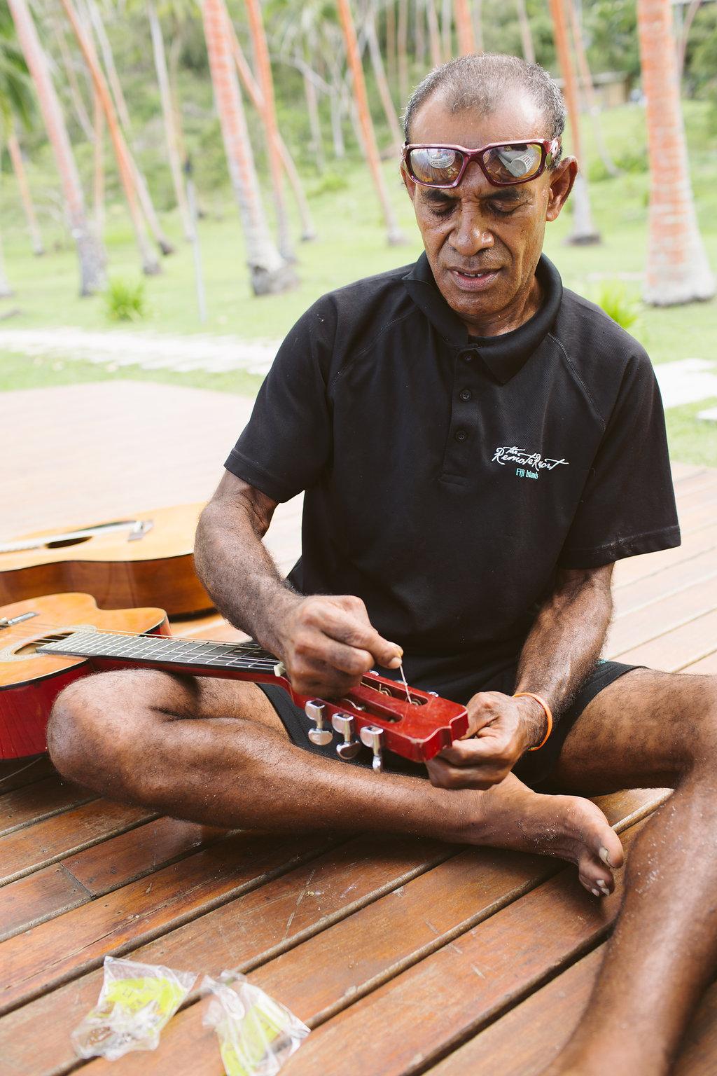 Fiji Wedding Preparation- The Remote Resort Fiji Islands - Off the beaten path ceremonies
