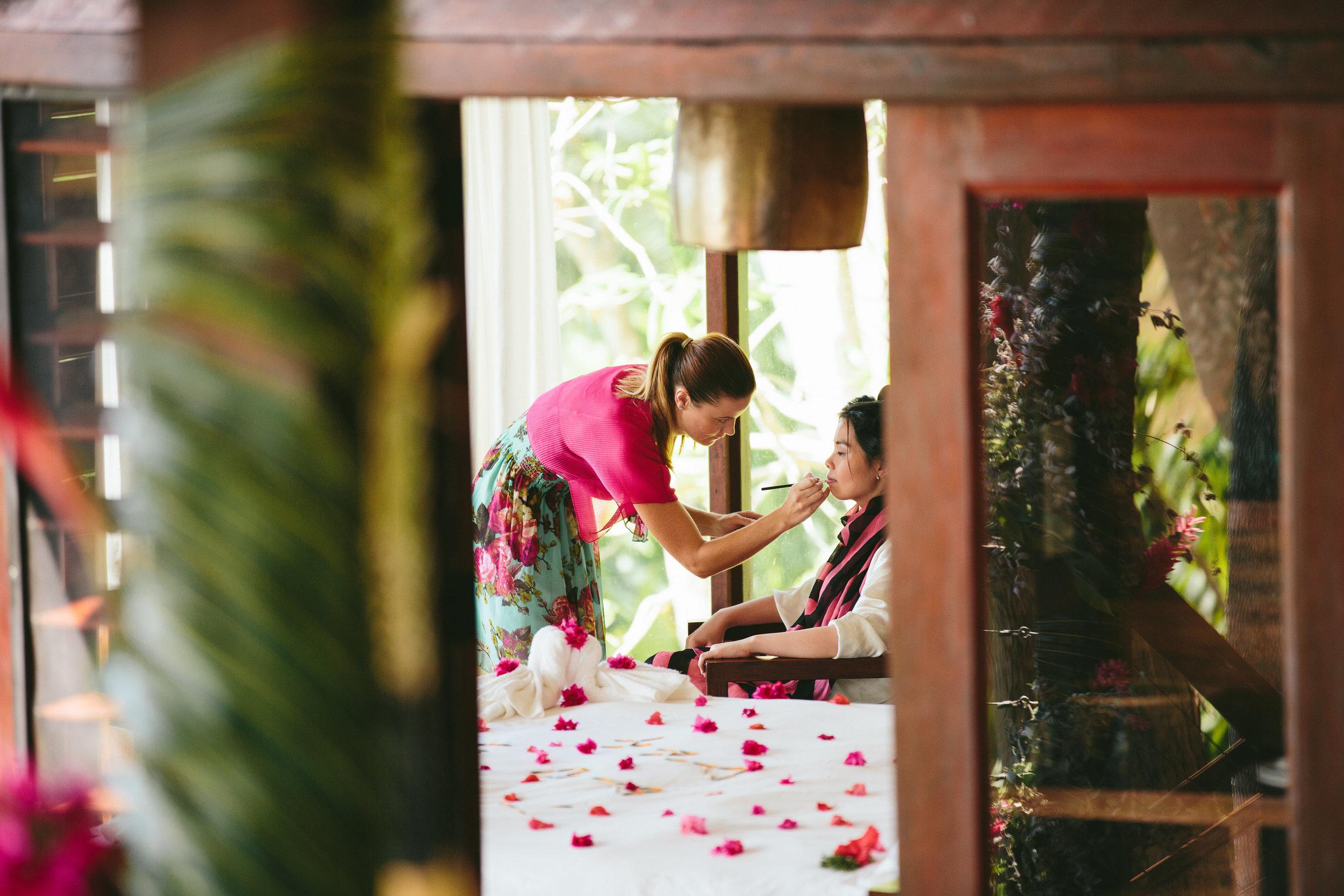 Fiji Wedding Hair and Makeup- Fiji Wedding Elopement - The Remote Resort Fiji Islands