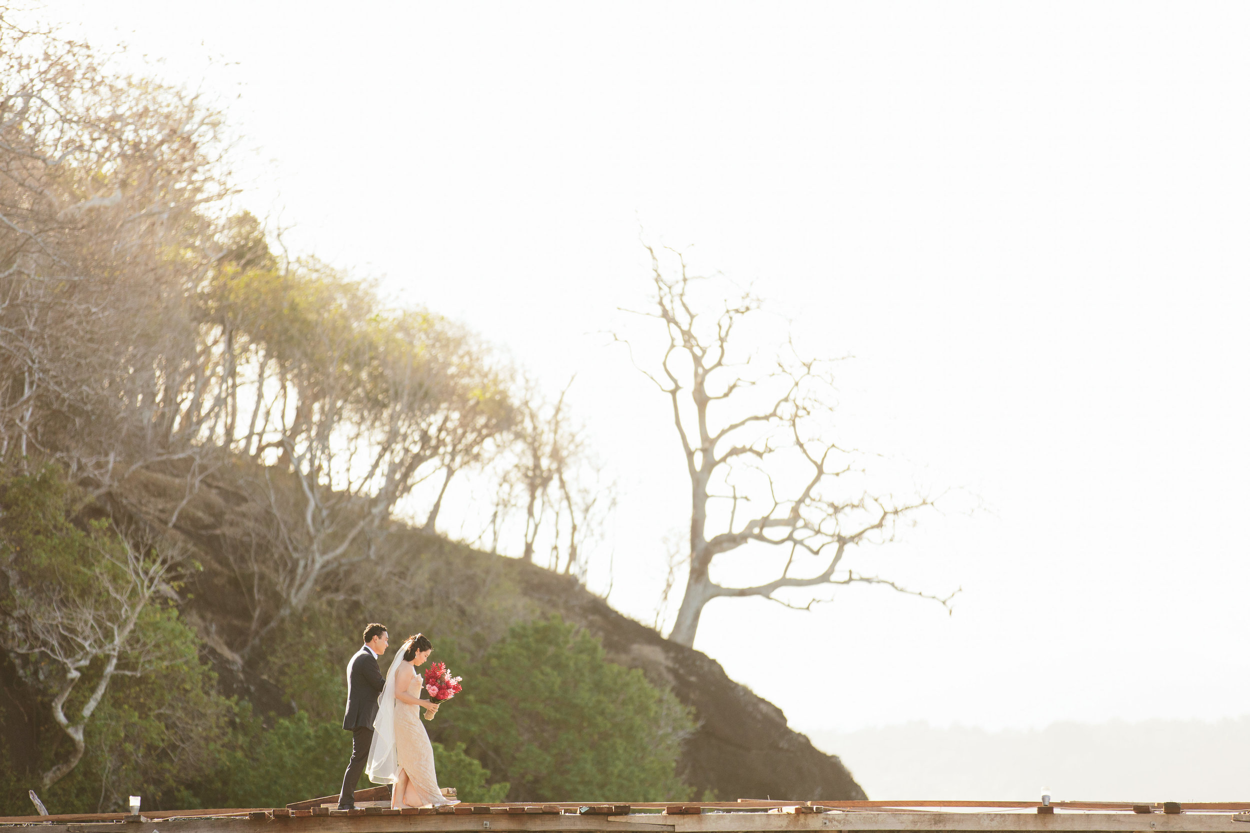 Fiji Wedding Ceremony - Fiji Beach Wedding Elopement - The Remote Resort Fiji Islands
