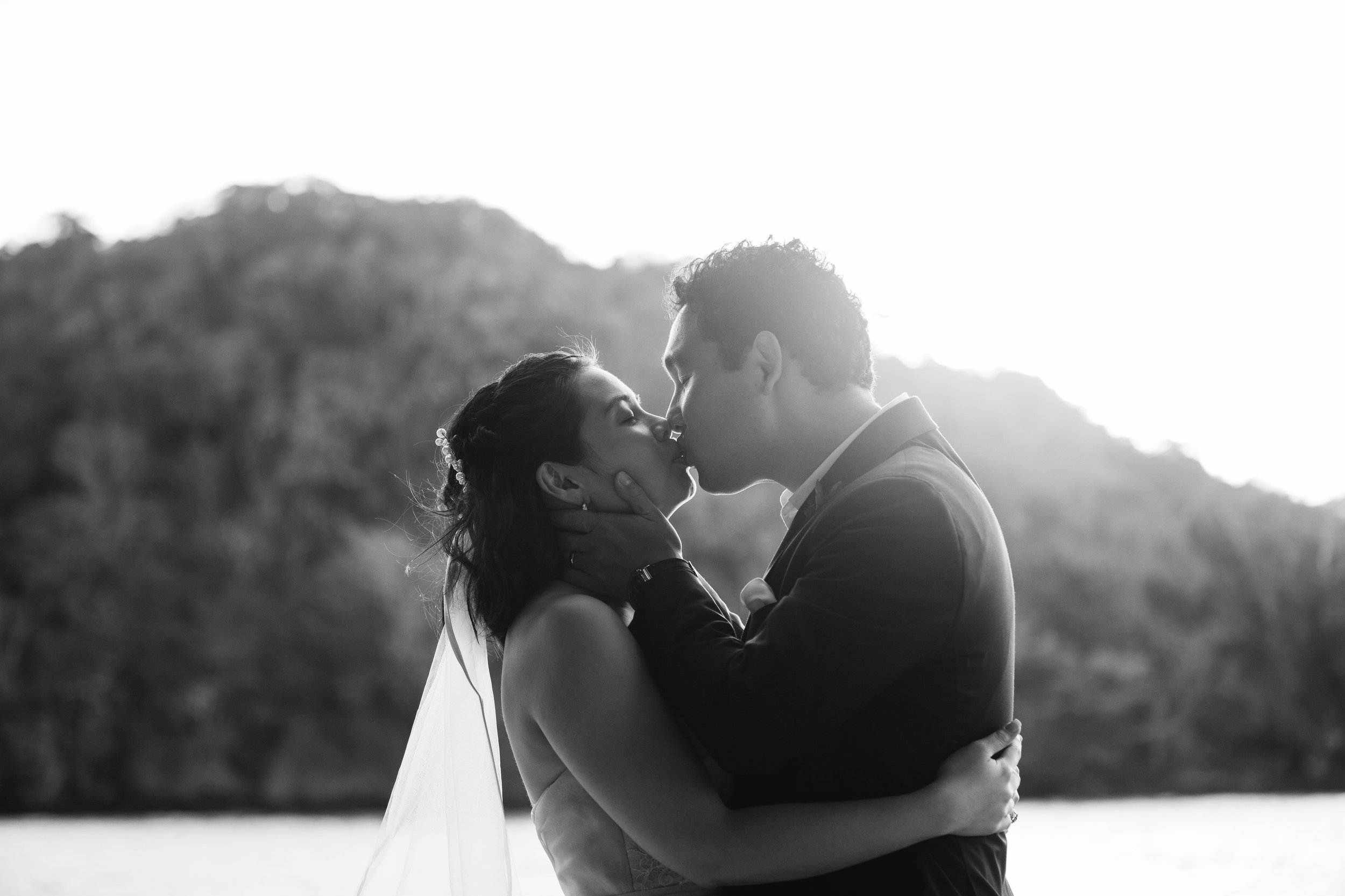 Fiji Wedding Ceremony - Fiji Beach Wedding Elopement - The Remote Resort Fiji Islands - Hidden Beach Wedding Photographs