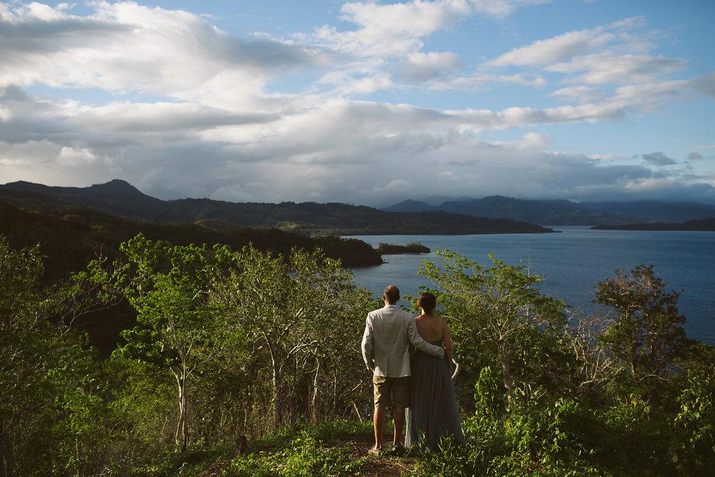 Fiji Wedding - The Remote Resort Fiji Islands - Views from the peak