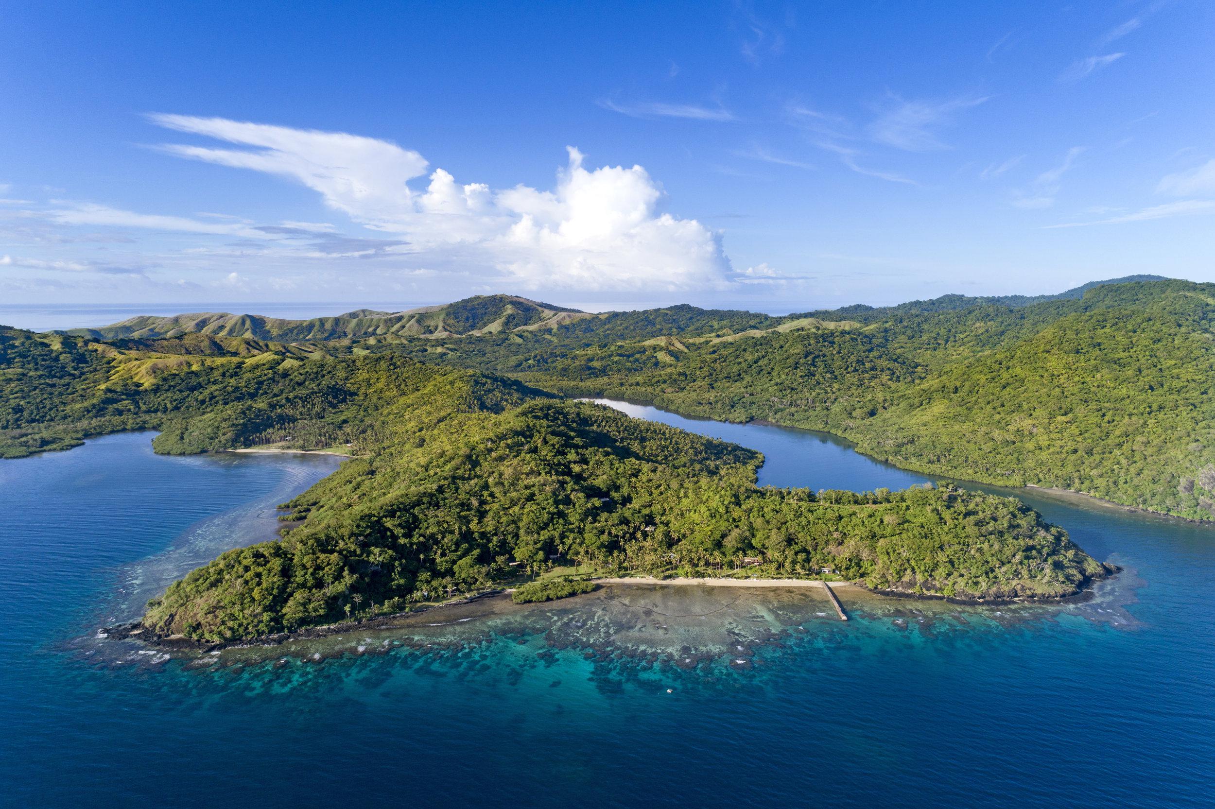 Best Fiji Luxury Resort - Aerial - The Remote Resort Taveuni.jpg