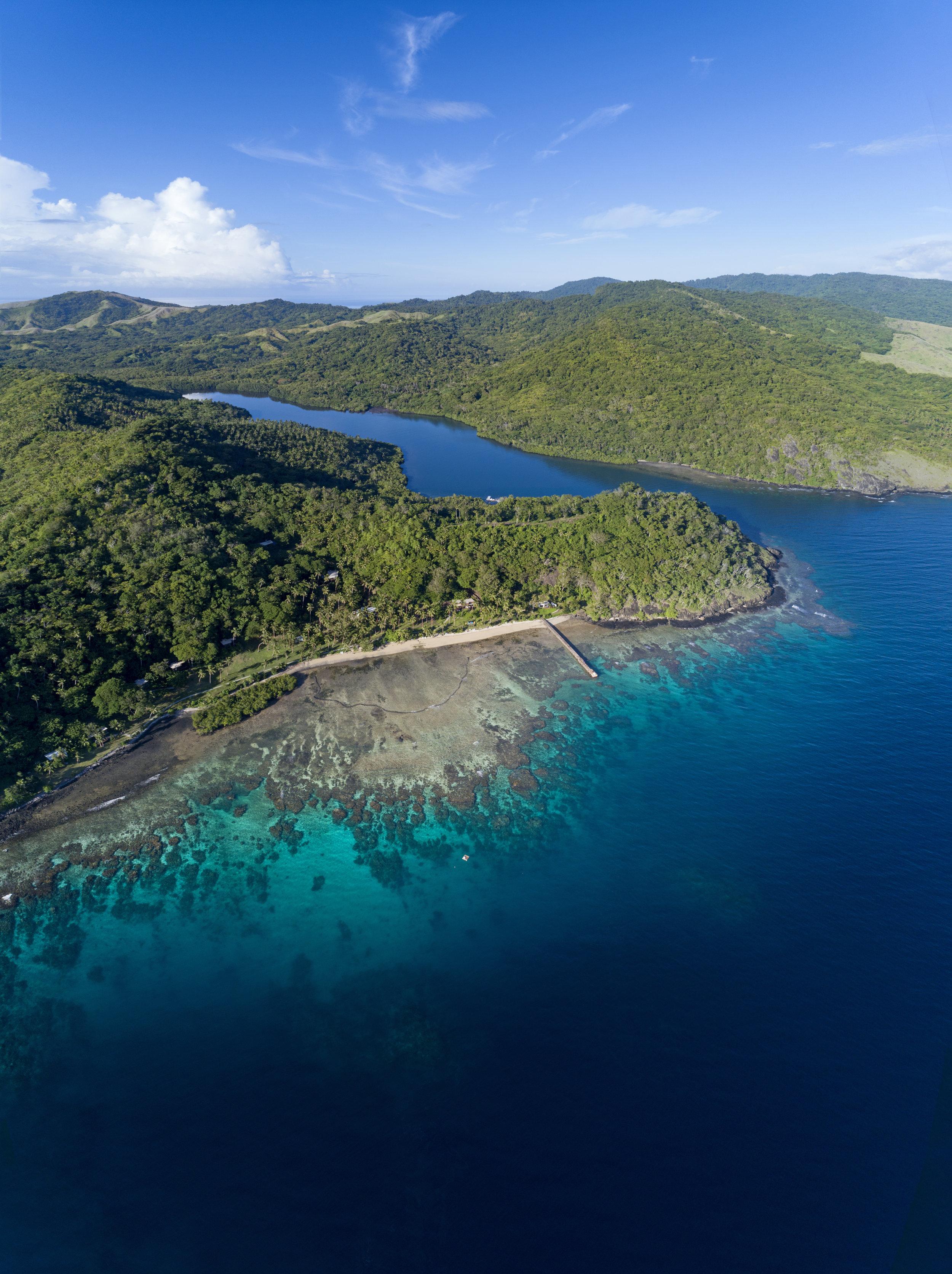 Best Fiji Luxury Resort - Aerial - The Remote Resort Vanua Levu2.jpg