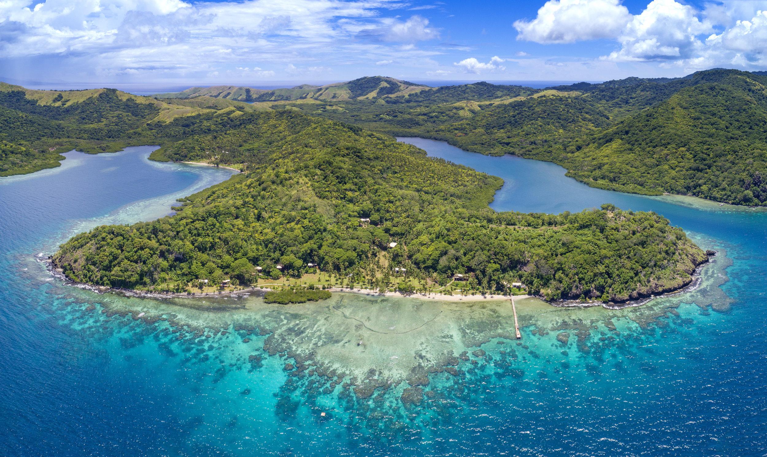 Best Fiji Luxury Resort - Aerial - The Remote Resort Vanua Levu.jpg