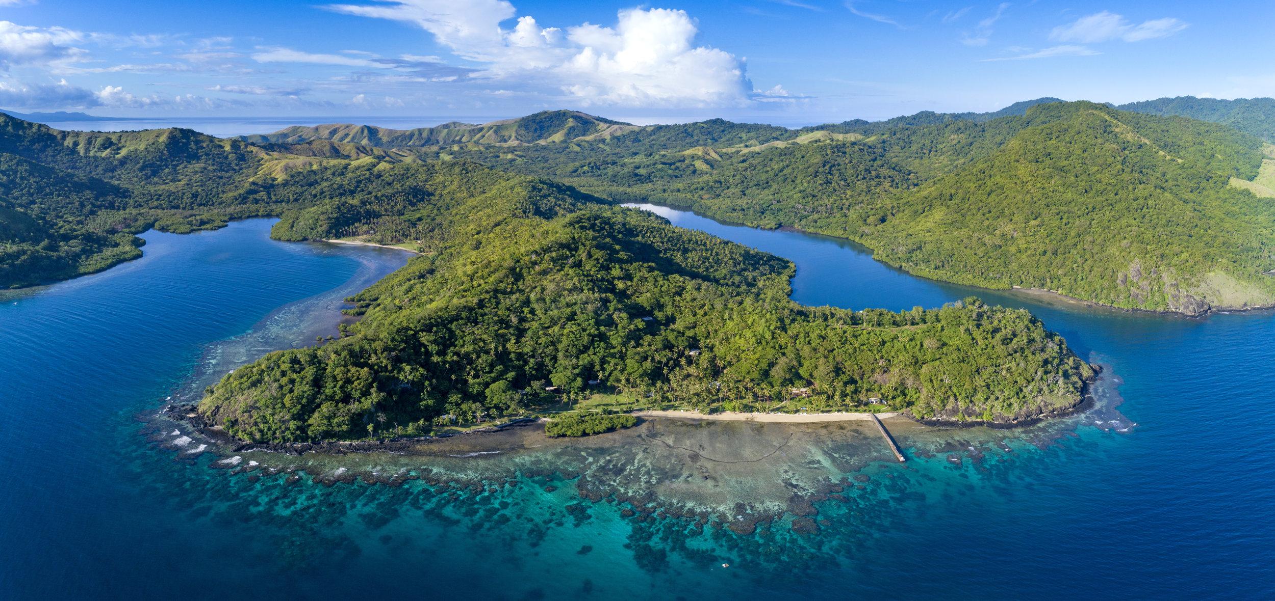 Best Fiji Luxury Resort - Aerial - Vanua Levu.jpg