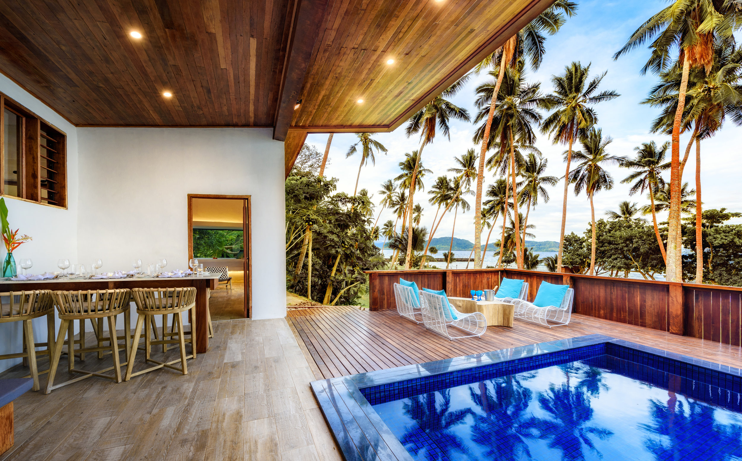 Fiji Resort - Two-bedroom Royal Retreat - Family Accommodation - up to 5 persons