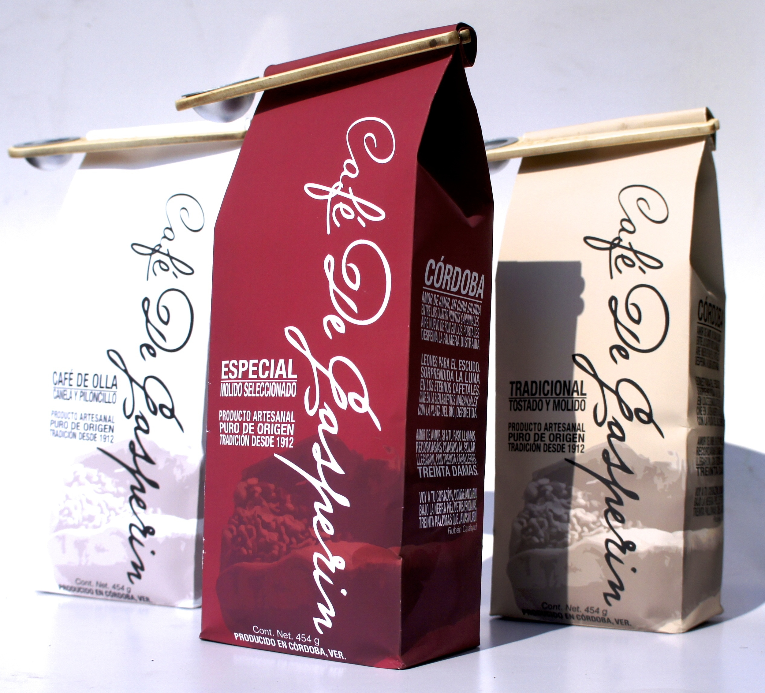 The new packaging and image highlights De Gasperin's values.