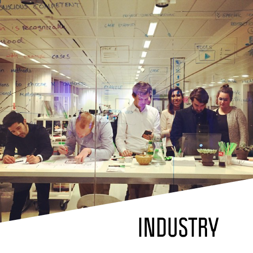 Copy of Connecting SPD students and industry through cases, workshops and company events.