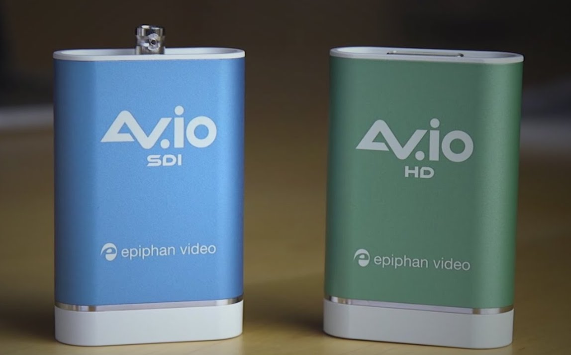 Epiphan AV.io video capture units