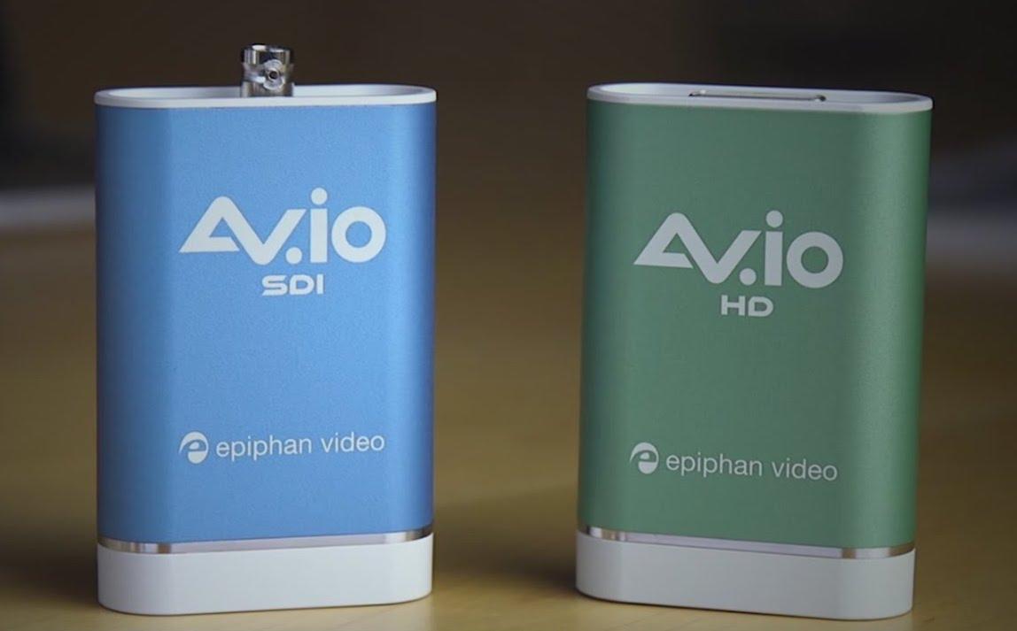Epiphan AV.io video capture units