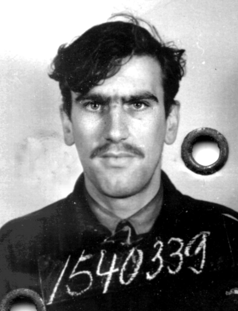 My dad's Prisoner of War ID photo