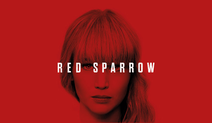 Red Sparrow starring Jennifer Lawrence