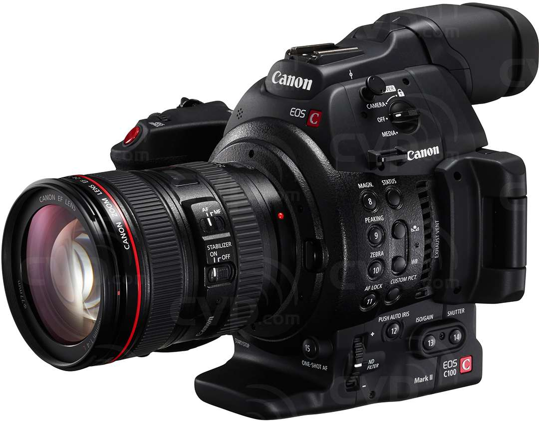Canon EOS C100 Cinema Video Camera