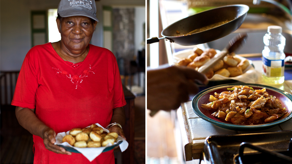 People of Nevis love to cook, to share their abundant natural store cupboard and add a touch of spice to everyones life