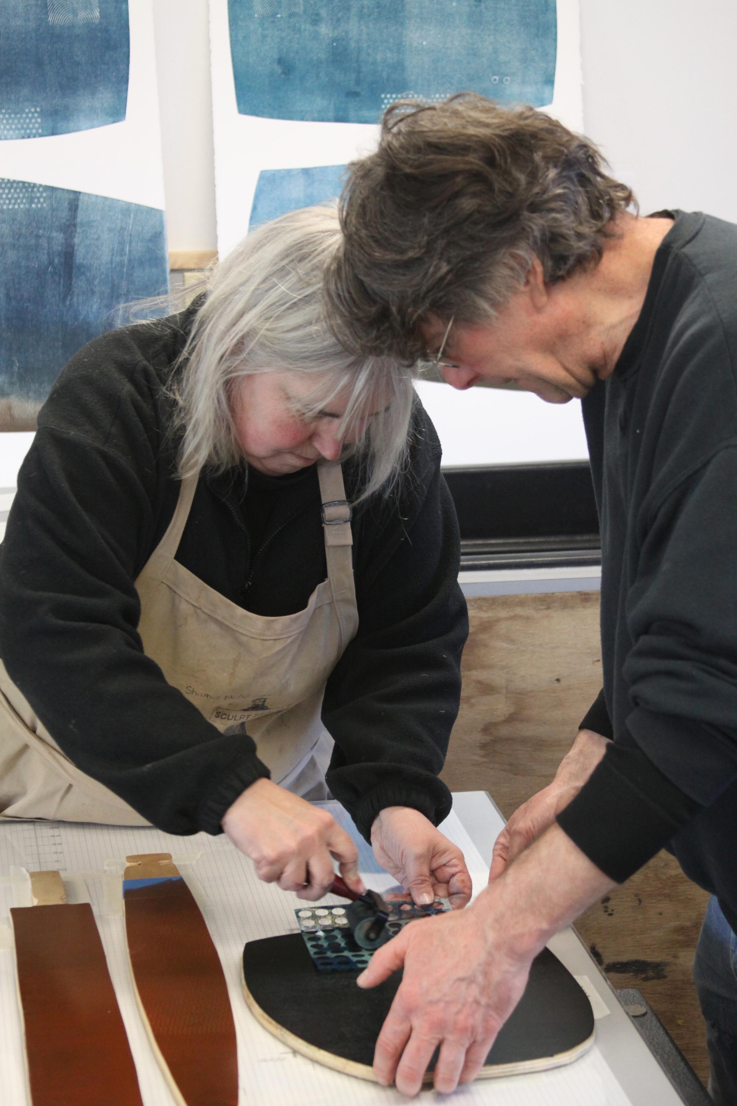 Lee & Dan Ross printing