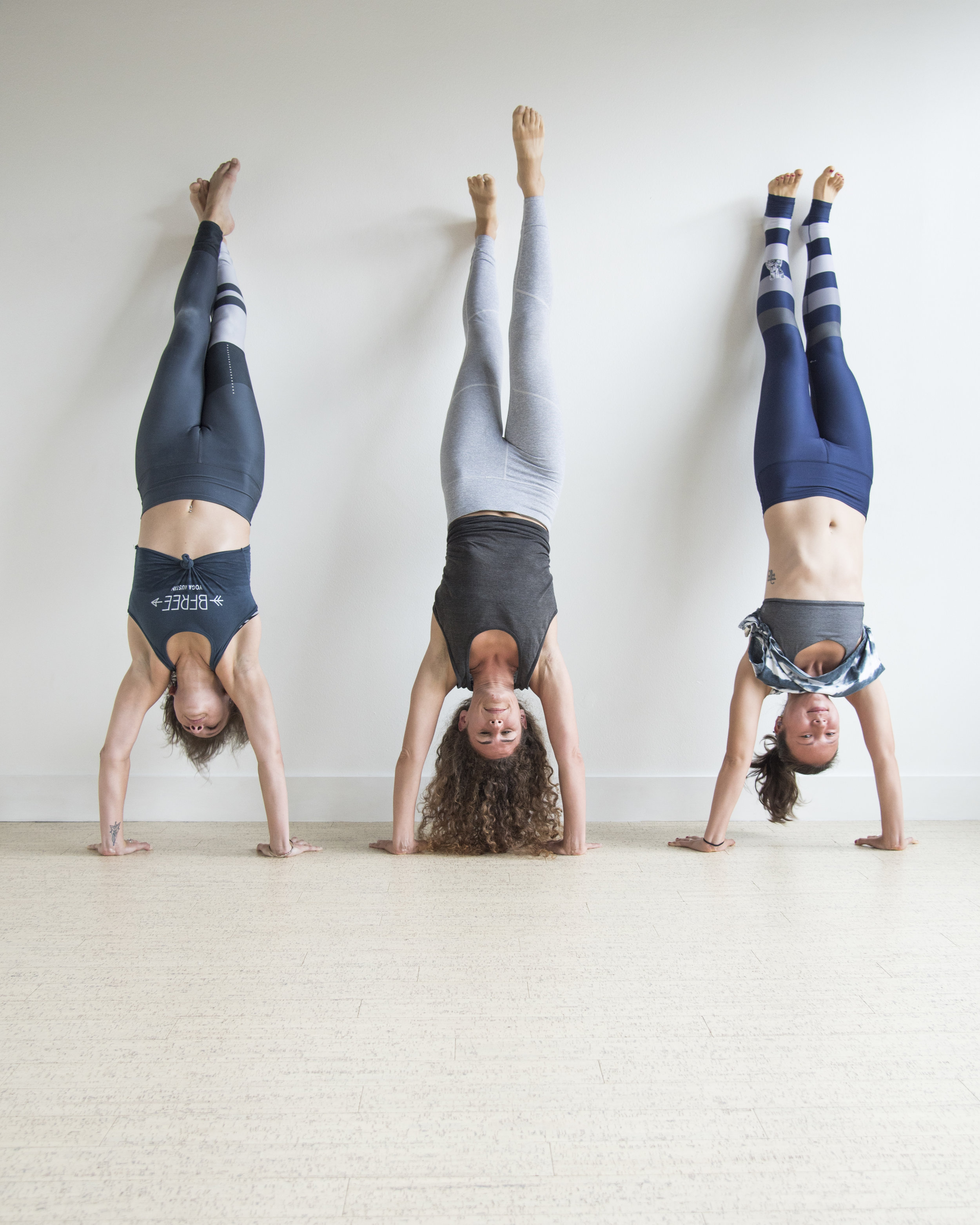 BFree Yoga Handstand Brand Photo