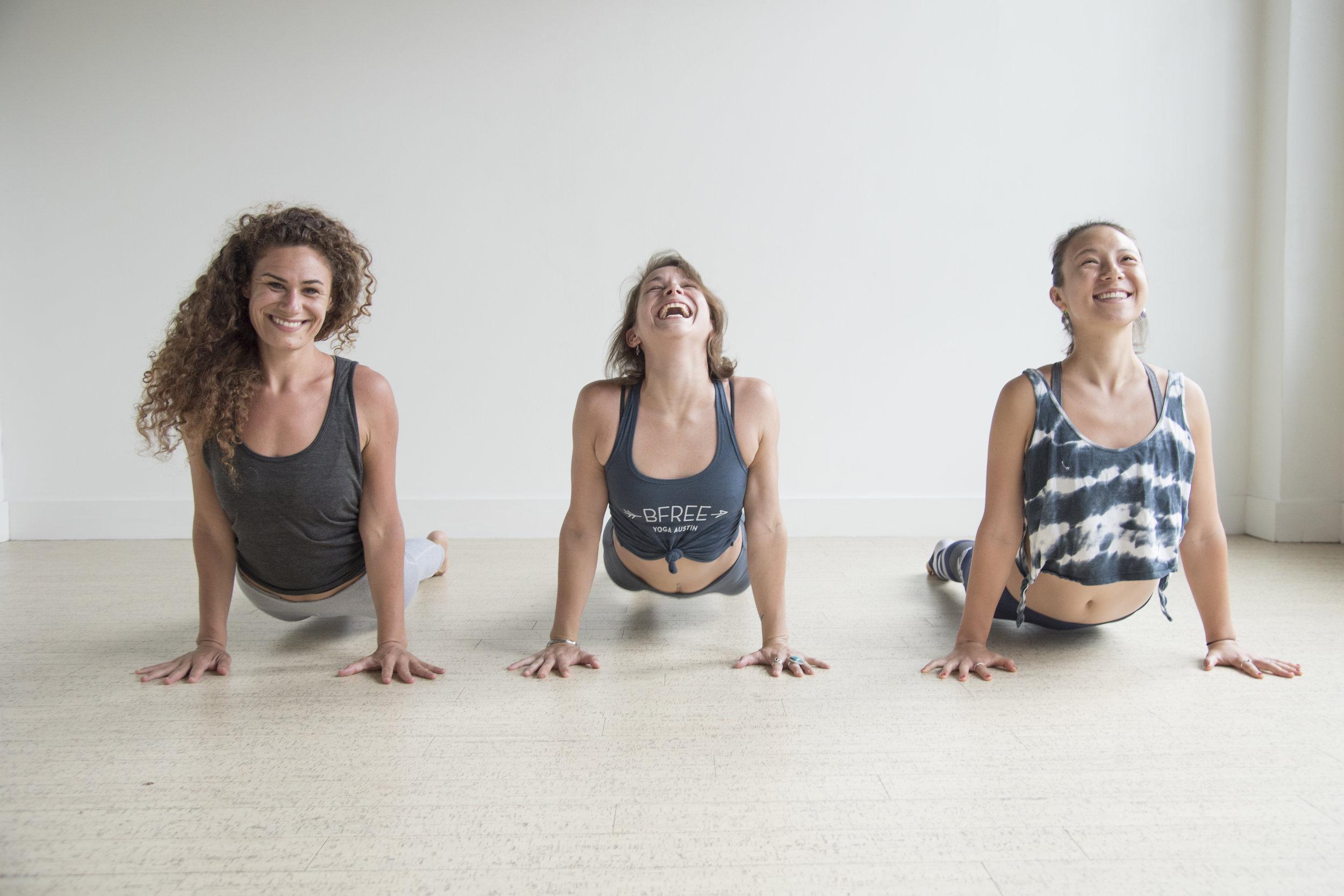 BFree Yoga Upward Brand Photo