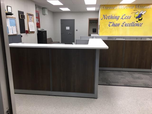 Herbert Hoover Middle School - Edison, NJ --- Main Office & Guidance Dept.