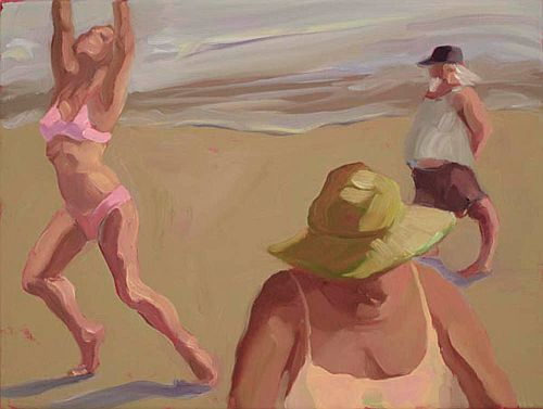 "Beach Volleyball,12 x 16"""