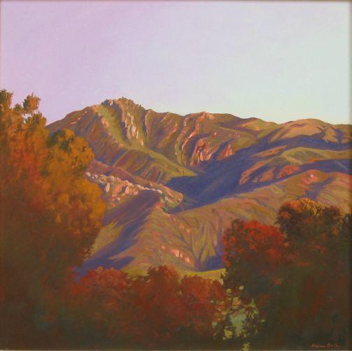 """Mountain Shadows,24 x 24"""""""