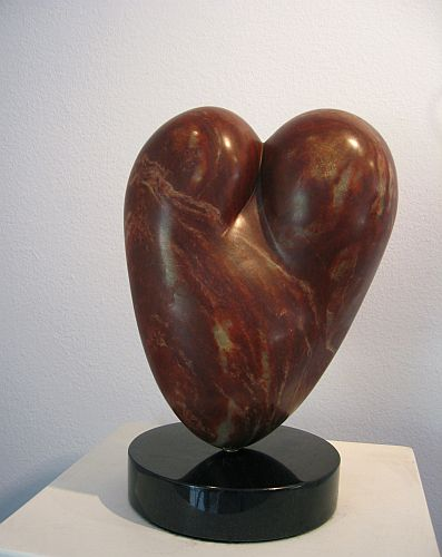 Lovers,12 x 8 x 6, Alabaster
