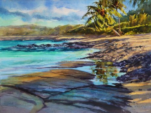 "Kohala Coast,30 x 22"""