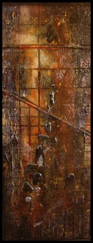 "Atlantis Rising,62 x 26"""