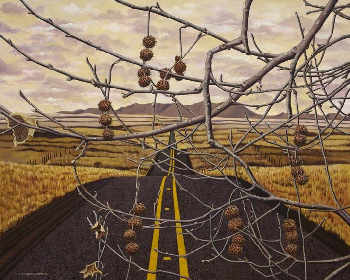 """Dream Catcher"" Oil on Canvas, 48 x 60"""