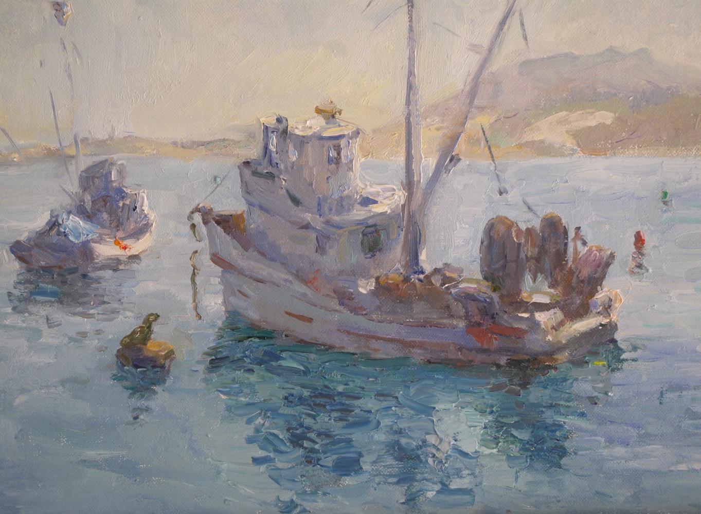 Monterey Anchorage Oil 9 x 12
