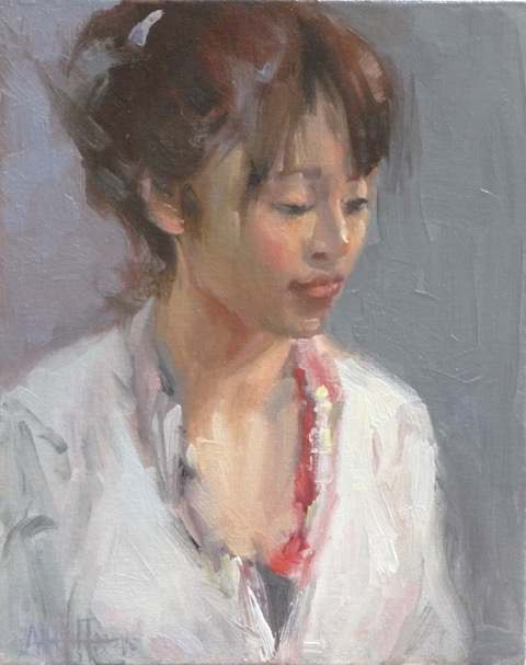Young Chinese Girl 8x10""