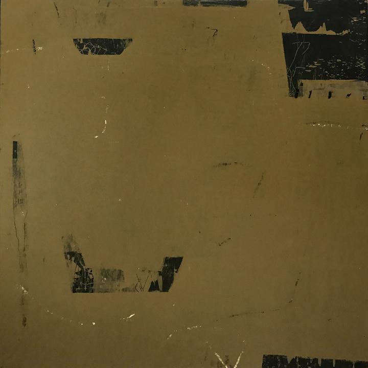"""Pot o' Gold, Acrylic/mixed media on panel, 30x30"""""""
