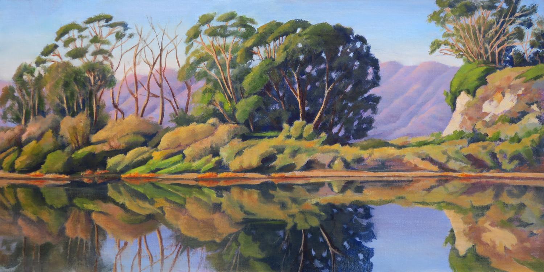 Goleta Slough Reflections