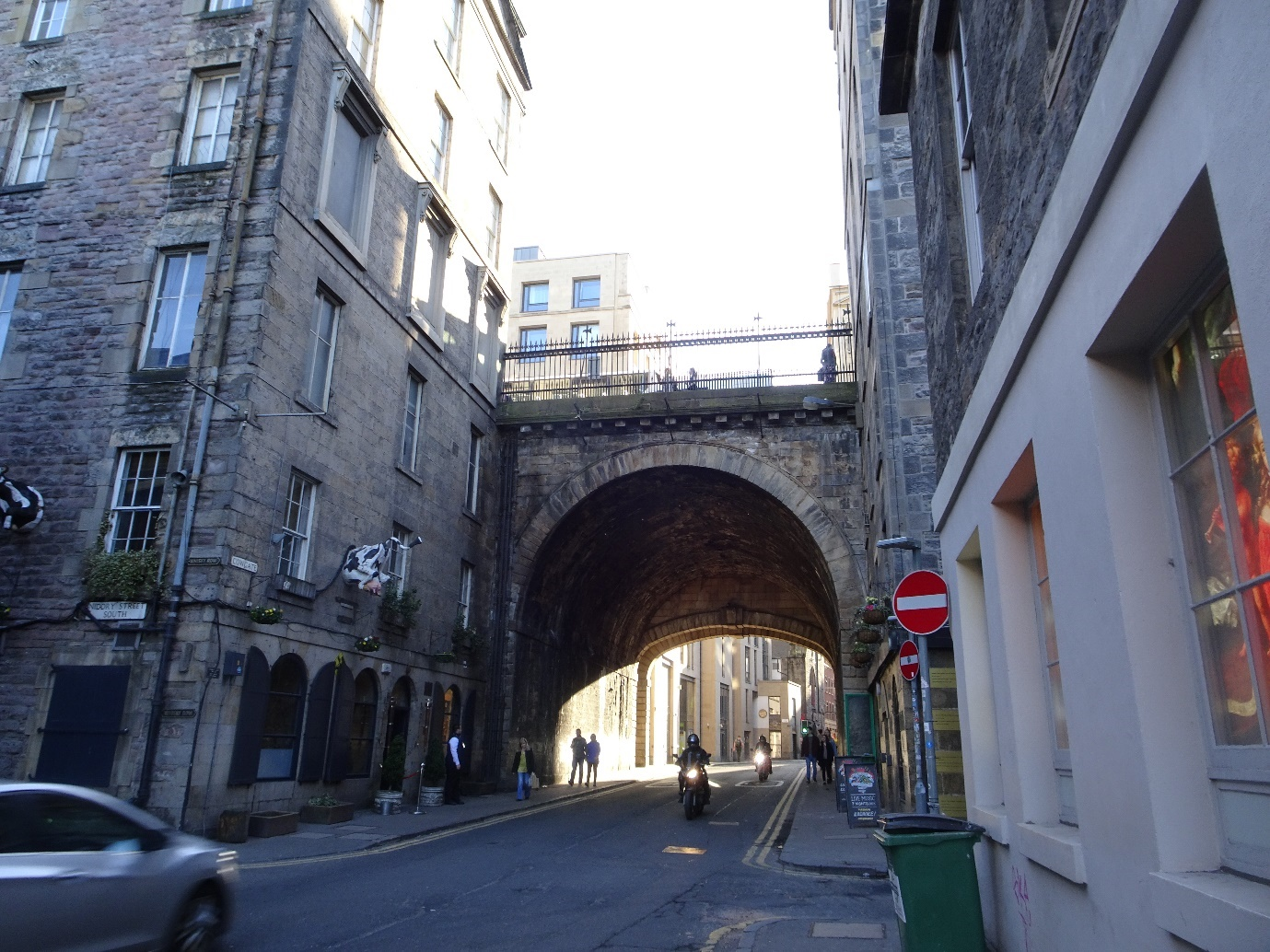 South Bridge from Cowgate