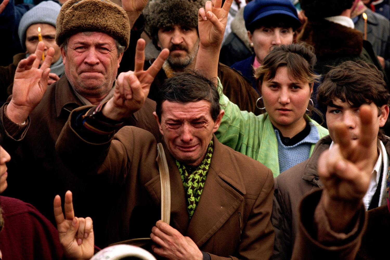 "Bucharest, Romania, 1989<span class=""photo-essays-link""><span class=""separator"">・</span><a href=""/photo-essays"">Photo-essays</a></span>"