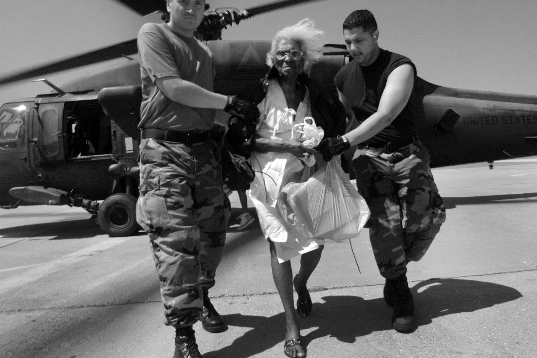 "Hurricane Katrina. New Orleans, U.S.A., 2005.<span class=""photo-essays-link""><span class=""separator"">・</span><a href=""/photo-essays"">Photo-essays</a></span>"