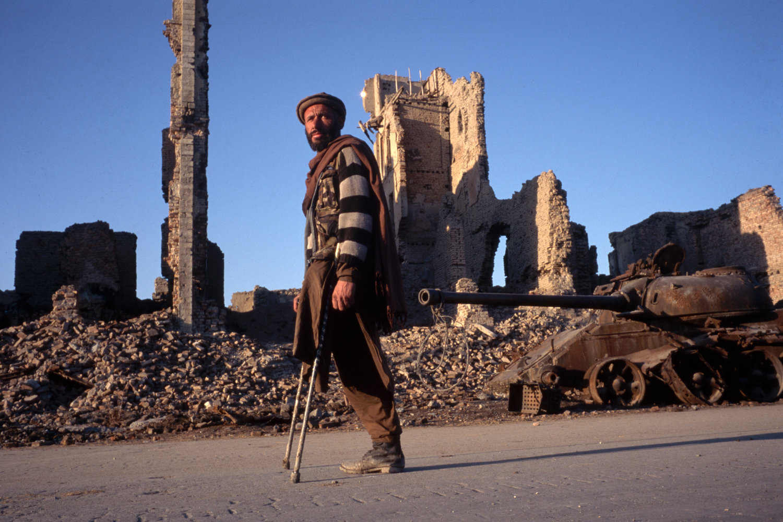 "Land mine victim. Kabul, Afghanistan, 1996.<span class=""photo-essays-link""><span class=""separator"">・</span><a href=""/photo-essays"">Photo-essays</a></span>"