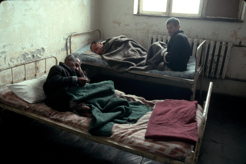 "Elbasan Psychiatric Hospital. Albania, 1992.<span class=""photo-essays-link""><span class=""separator"">・</span><a href=""/photo-essays"">Photo-essays</a></span>"