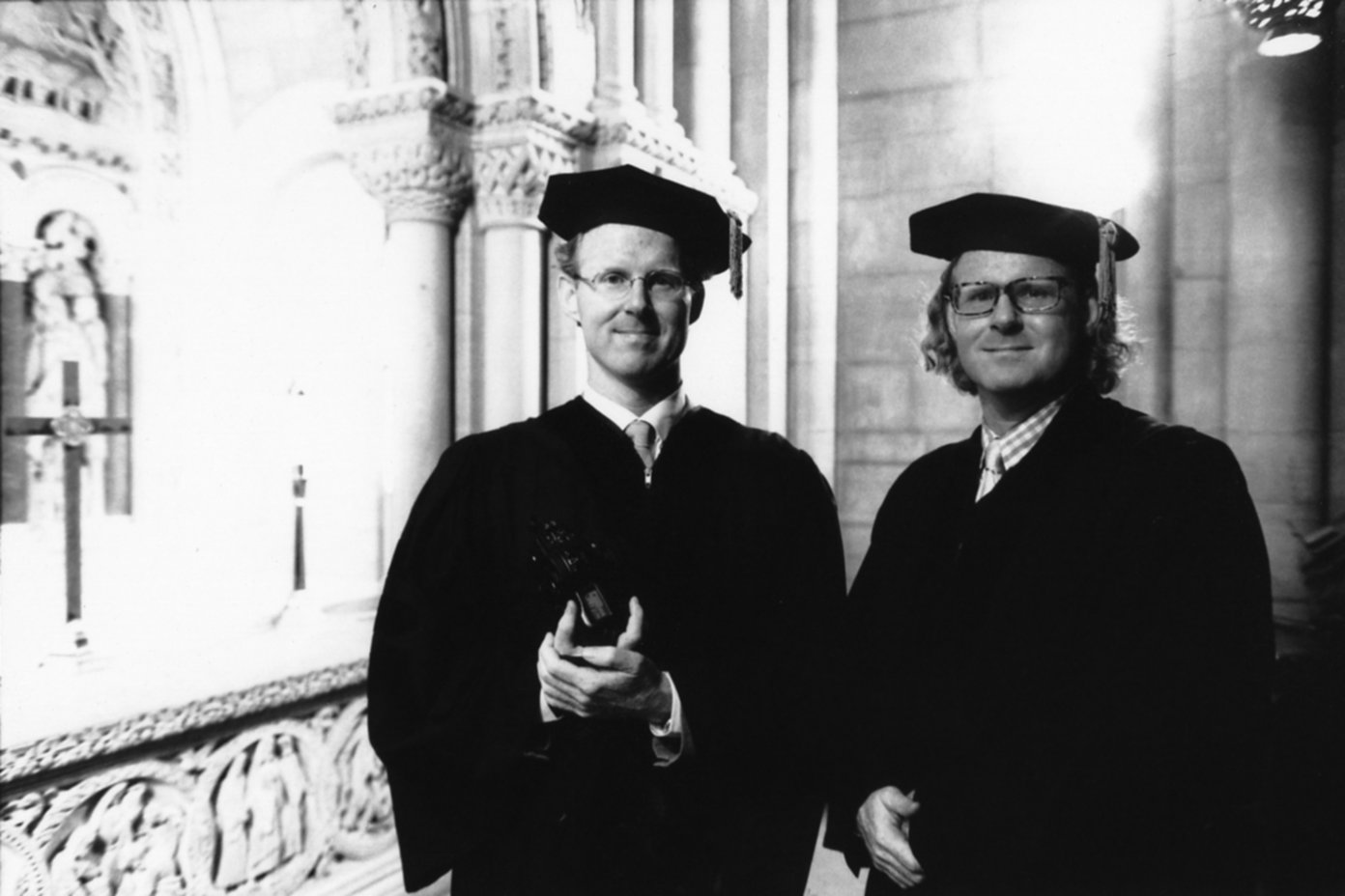 "Honorary doctorates. The New School, 1999.<span class=""photo-essays-link""><span class=""separator"">・</span><a href=""/photo-essays"">Photo-essays</a></span>"