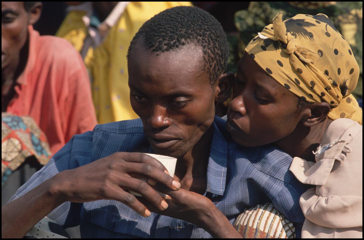 28 Jul 1994 --- Rwandan Refugees