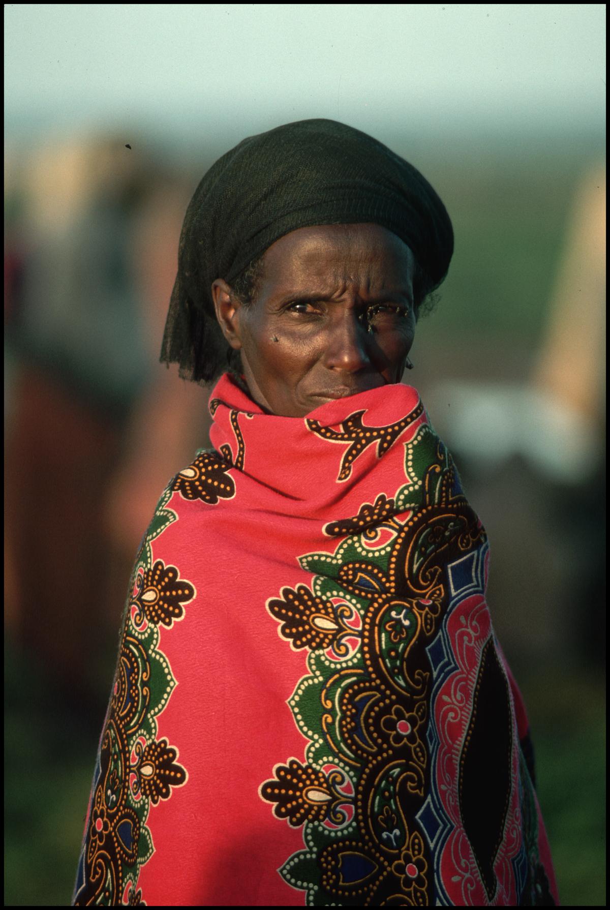 1986, Somalia --- Ethiopian Refugee