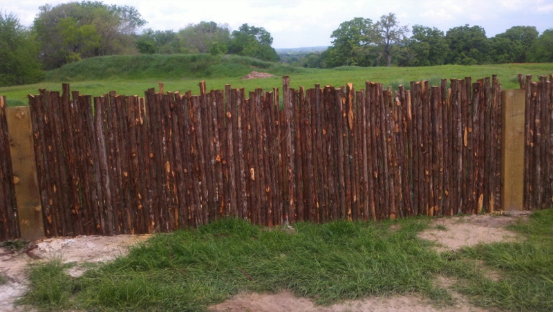 Coyote fence in Terrell, Texas