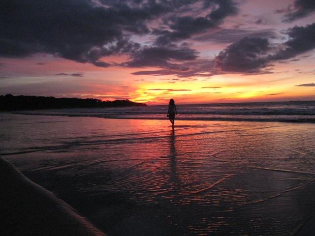 Sunset beach walk in the Osa.jpg