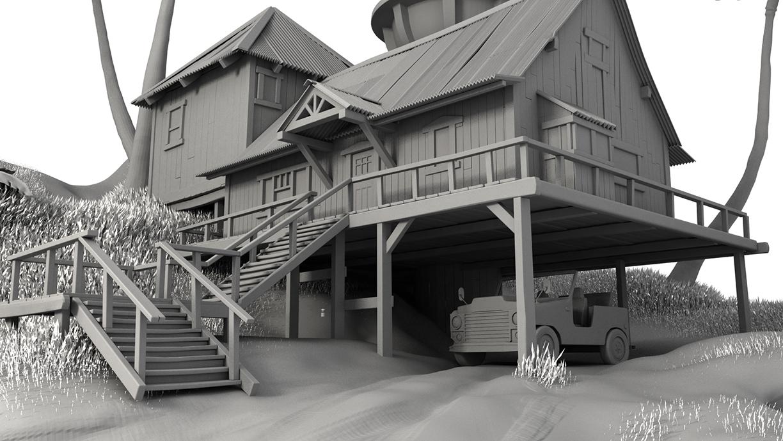 Disney's Lilo and Stitch: House Model