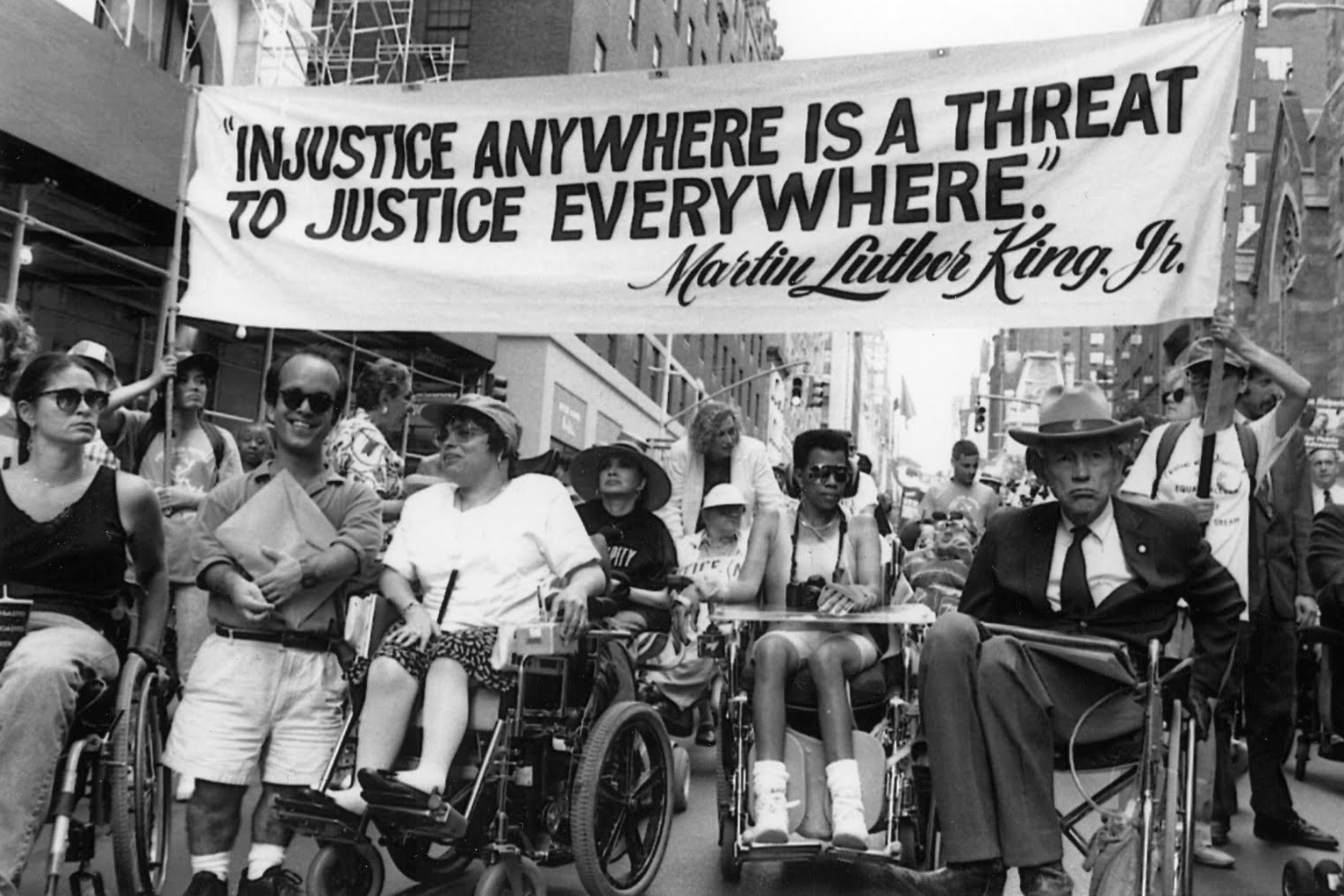 April 5, 1977, the start of a 25-day nationwide sit-in for Disability Rights