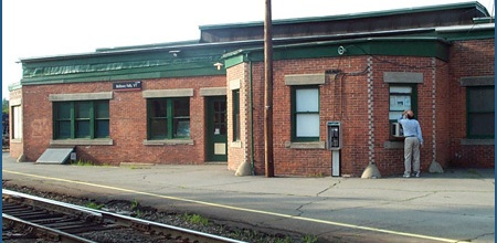 The Bellows Falls Train Station - One of America's Great Stations -  http://www.greatamericanstations.com/Stations/BLF