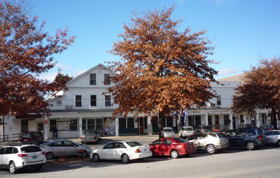 Just across the Connecticut River and a few miles south off NH Route 12 is WALPOLE, NH and this CHOCOLATE SHOP & CAFÉ.    47 Main Street, Walpole, NH    Phone: (603) 756-2882     http://www.burdickchocolate.com/