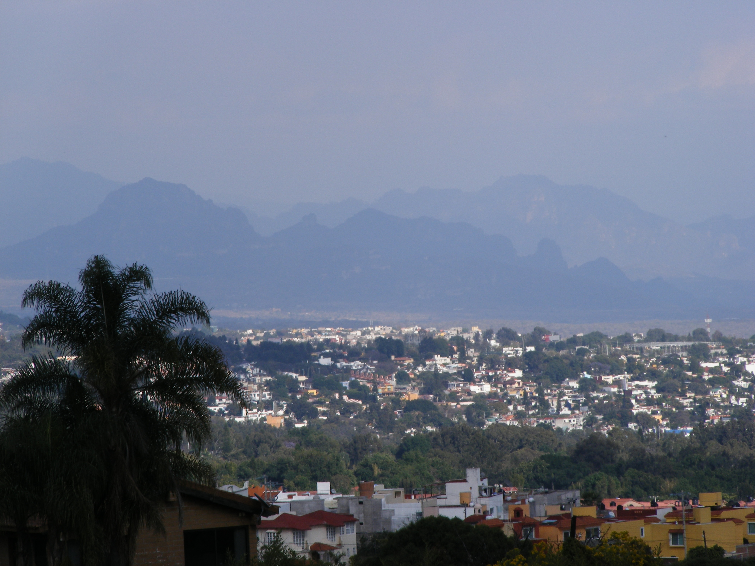 View of Cuernavaca from the Quest base.