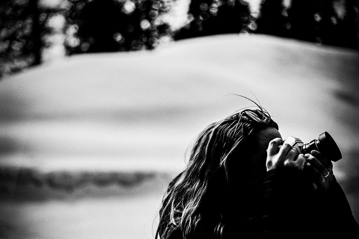 Photographer & Snow, 2017