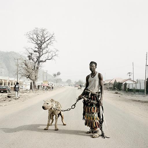 """Pieter Hugo, """"Mallam Galadima Ahmadu with Jamis, Abuja Nigeria 2005"""""""